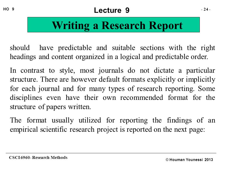 how to write a methodology for a research paper
