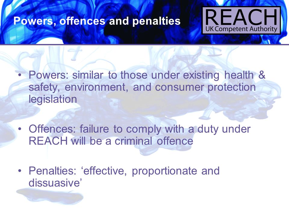 Powers, offences and penalties