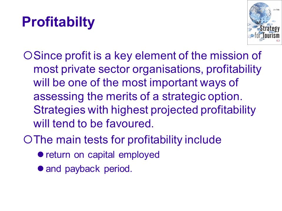 Profitabilty