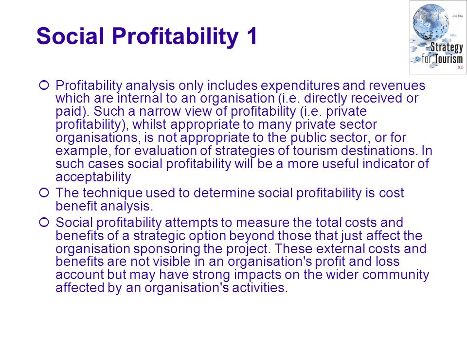 Social Profitability 1