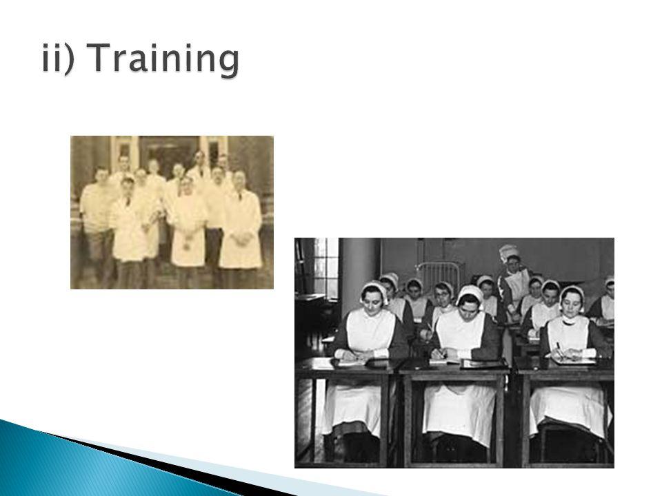 ii) Training