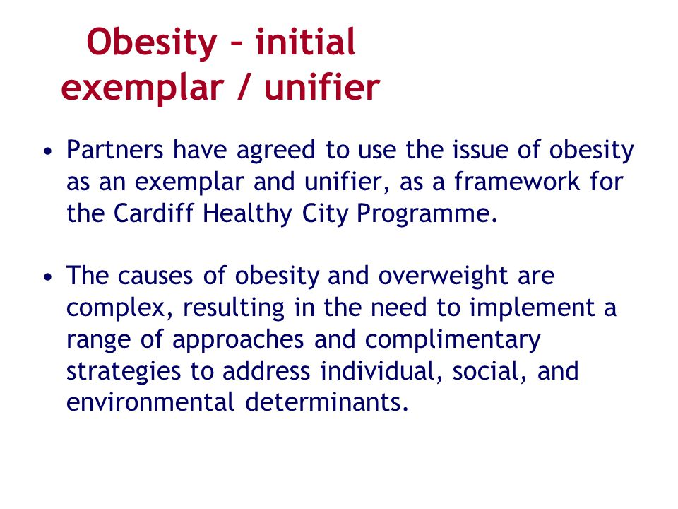 causes of obesity and strategies for change That the root causes of the obesity  evaluated changes to their nutrition and  physical activity environments  preventable cause of overweight among.