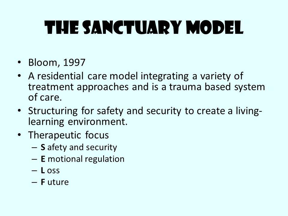 The Sanctuary Model Bloom, 1997