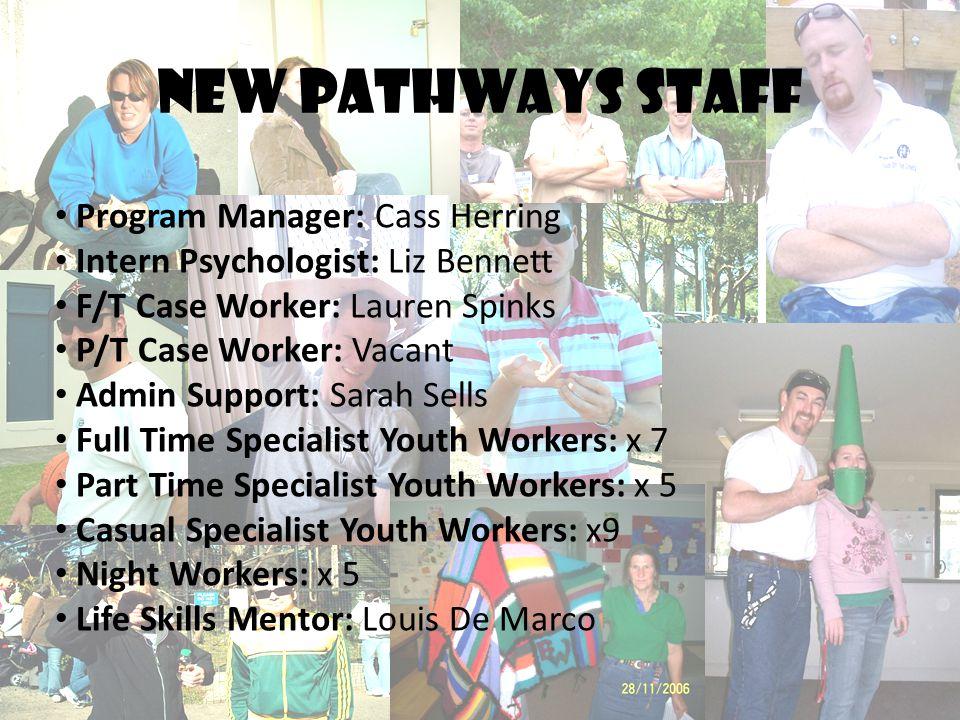 New pathways staff Program Manager: Cass Herring