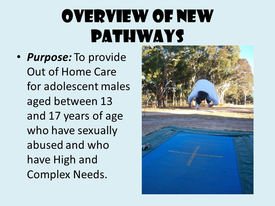 Overview of new Pathways