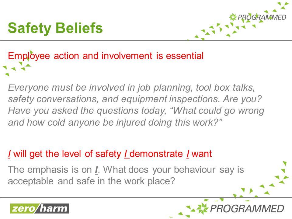 Safety Beliefs