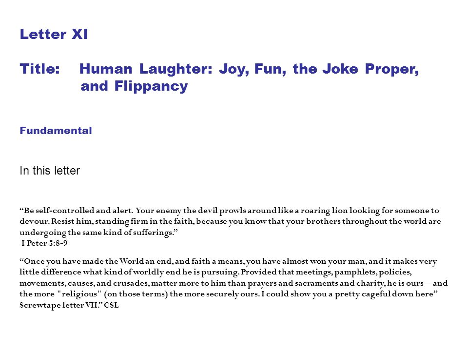 Title: Human Laughter: Joy, Fun, the Joke Proper, and Flippancy