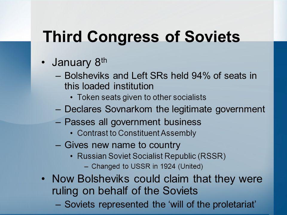 Third Congress of Soviets