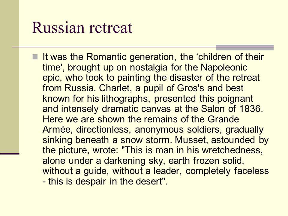 Russian retreat