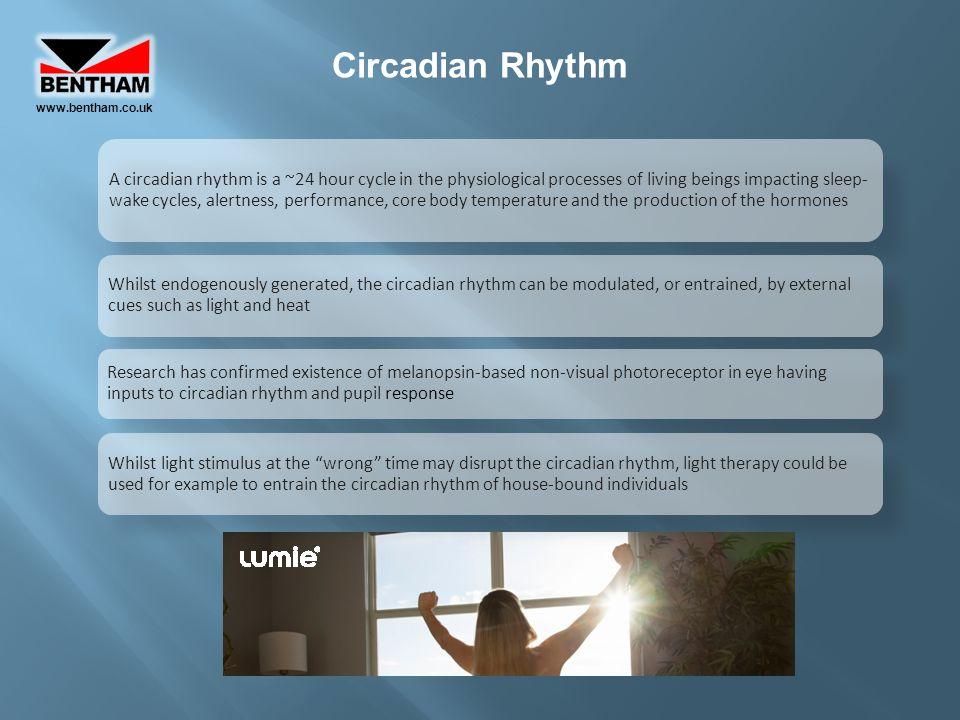 www.bentham.co.uk Circadian Rhythm.