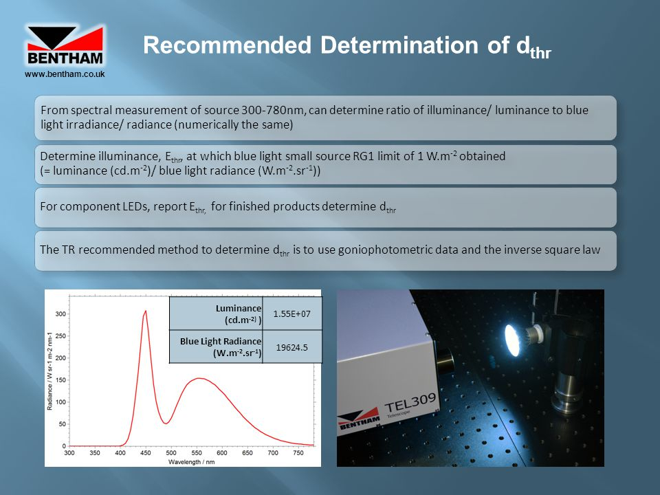 Recommended Determination of dthr