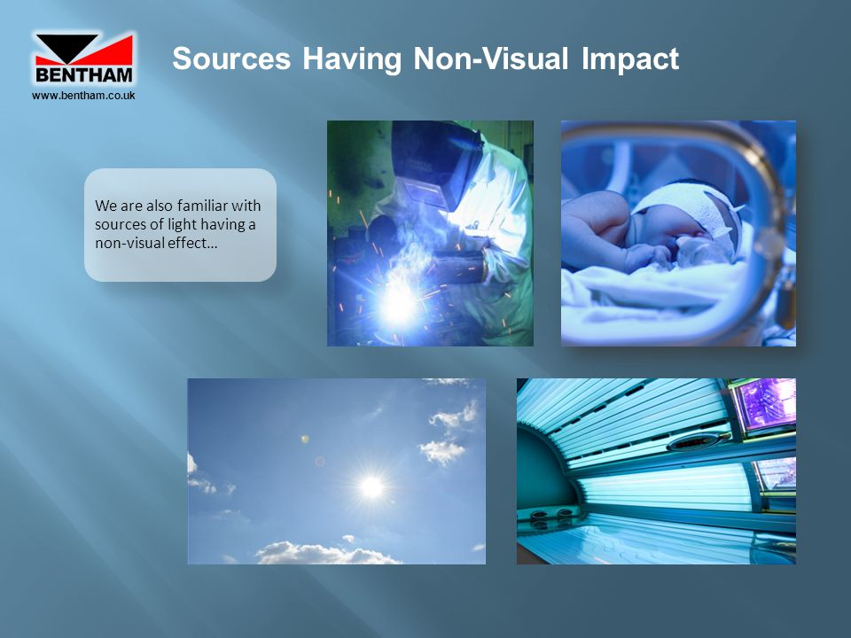 Sources Having Non-Visual Impact