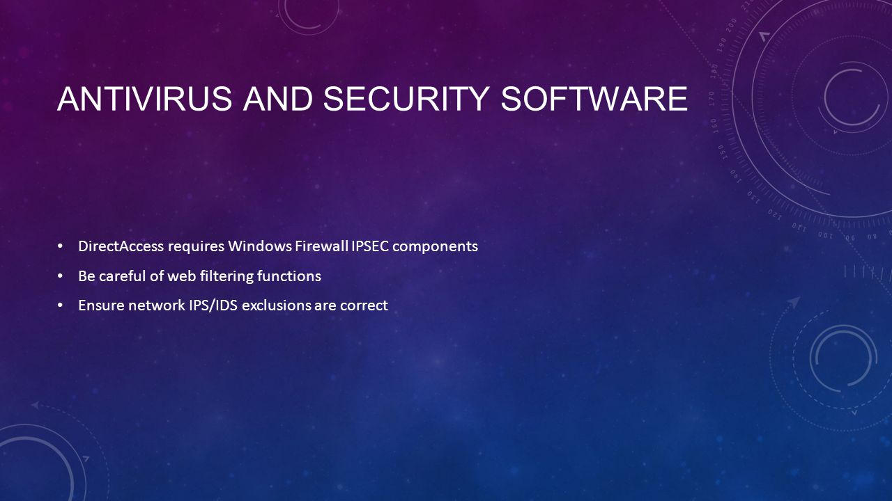 Antivirus and Security Software