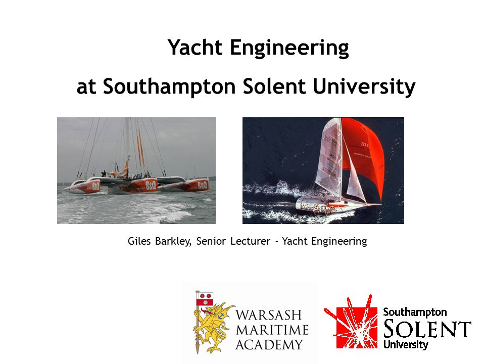 at Southampton Solent University