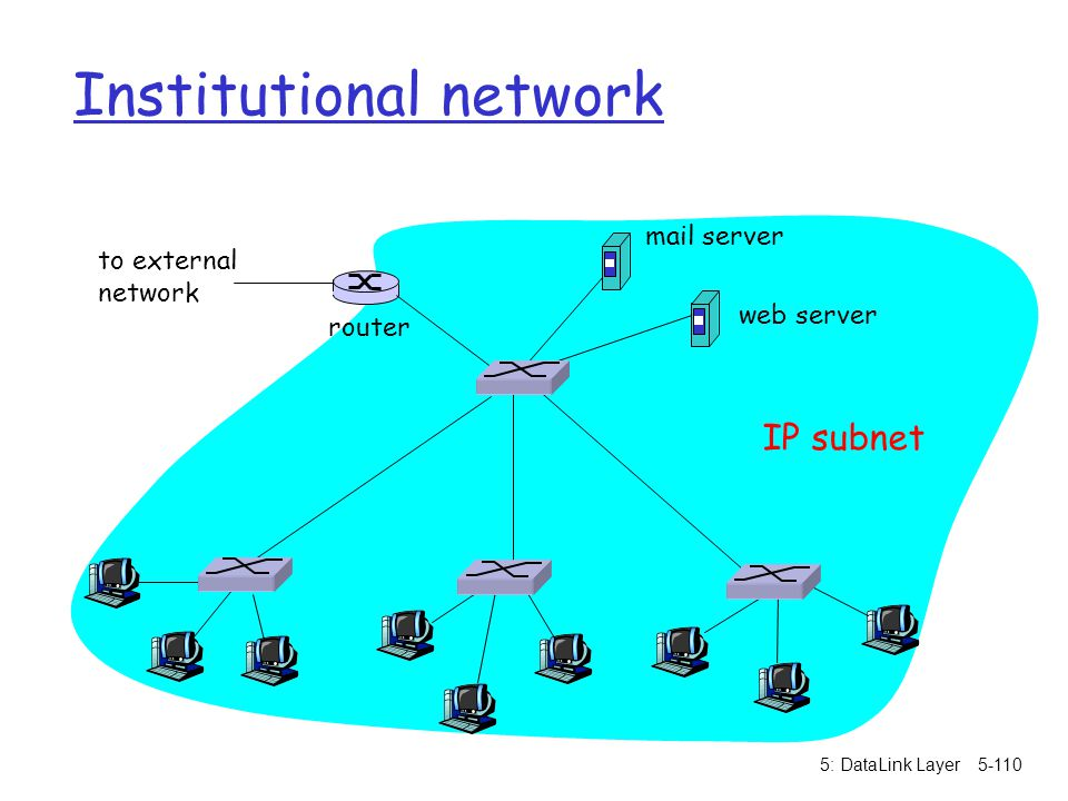 Institutional network