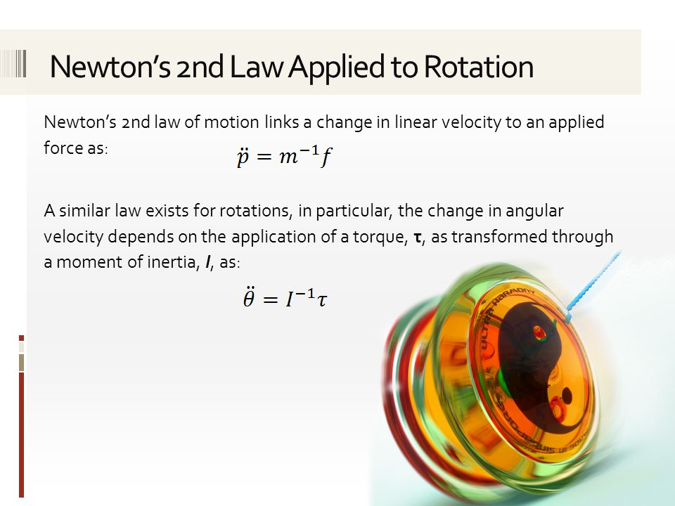 Newton's 2nd Law Applied to Rotation