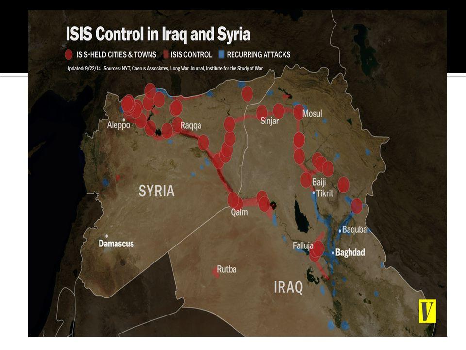 INVADED IRAQ- INTOLREANT IDEOLOGY- TARGET SHIA – MASS EXODUS – LIKE