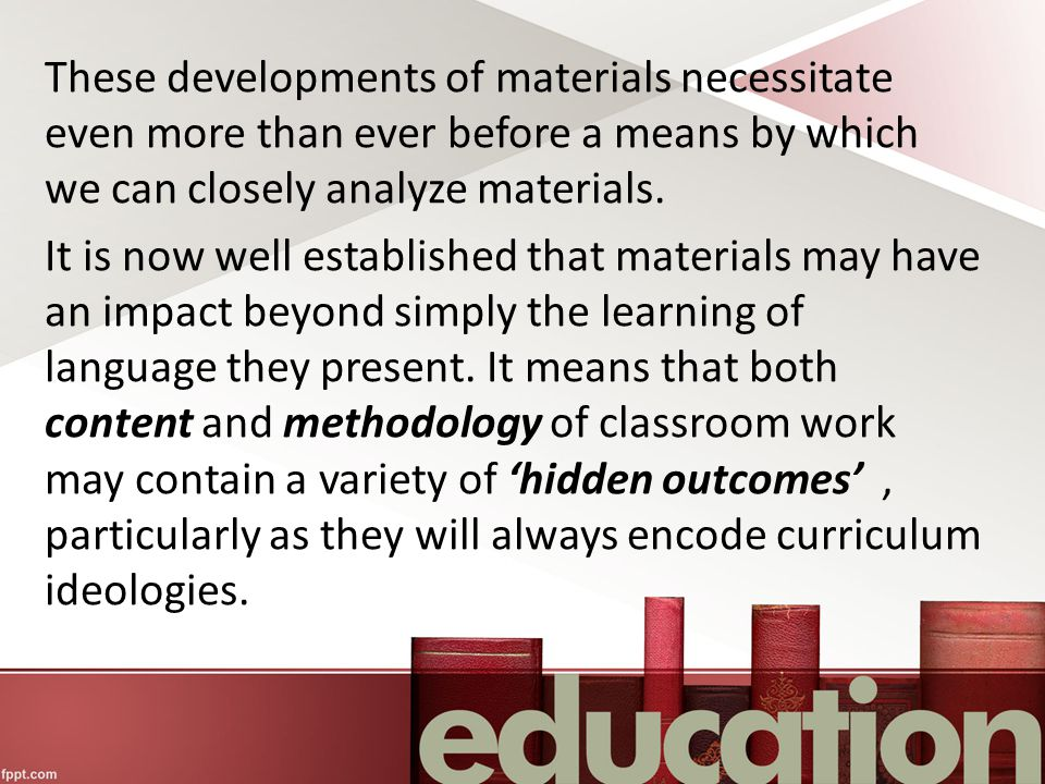 These developments of materials necessitate even more than ever before a means by which we can closely analyze materials.