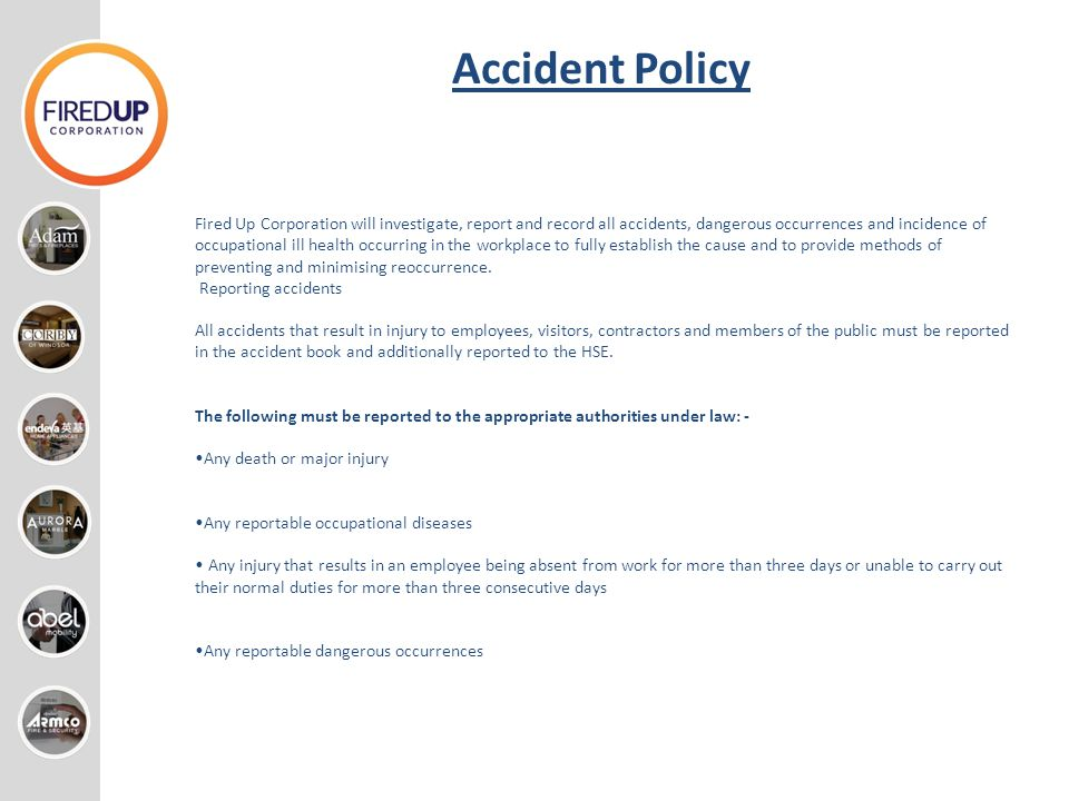 Accident Policy