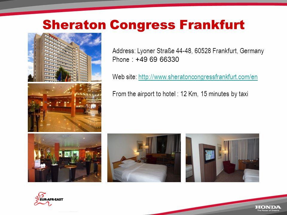 Sheraton Congress Frankfurt