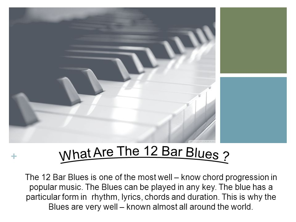 What Are The 12 Bar Blues