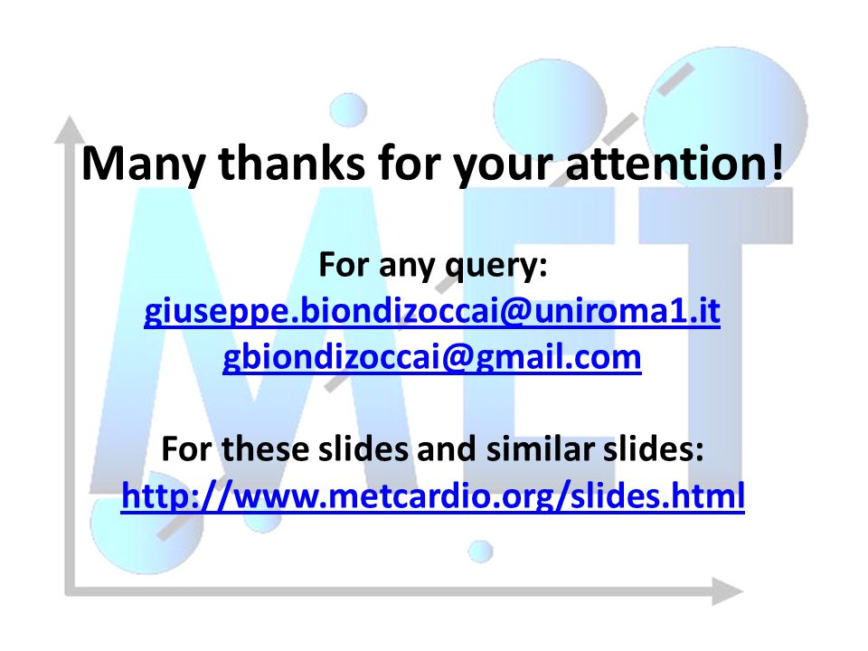 Many thanks for your attention! For these slides and similar slides: