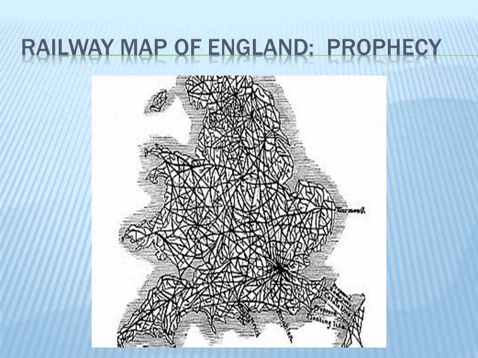 Railway Map of England: prophecy
