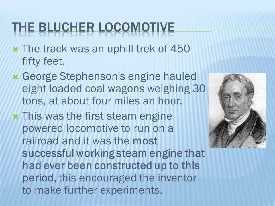 The Blucher Locomotive