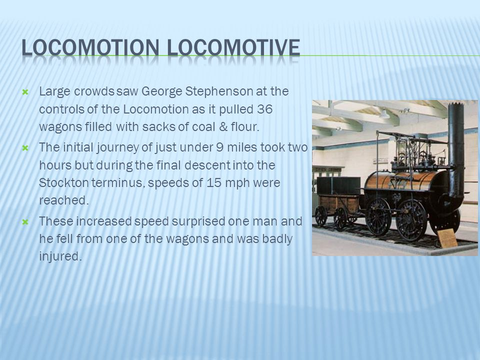 Locomotion Locomotive