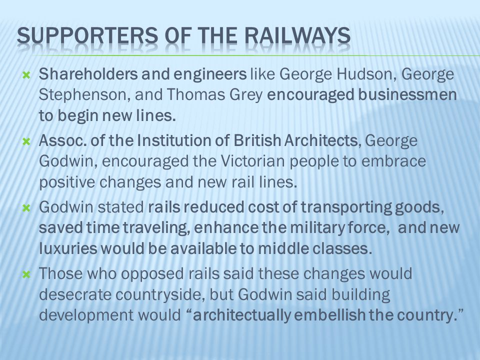 Supporters of the Railways