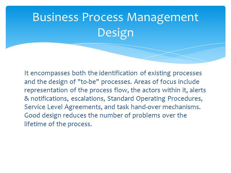 Business Process Management Design