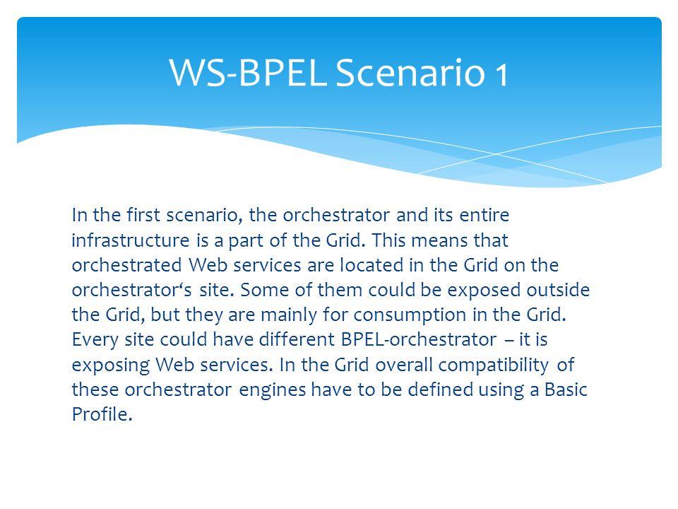 WS-BPEL Scenario 1