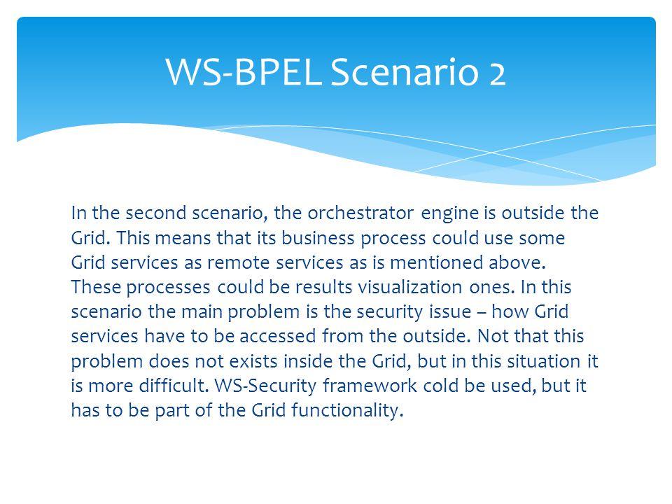 WS-BPEL Scenario 2
