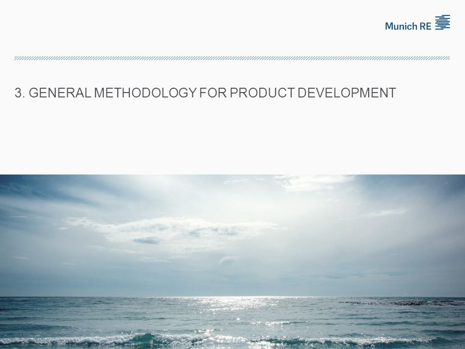 3. General methodology for product development
