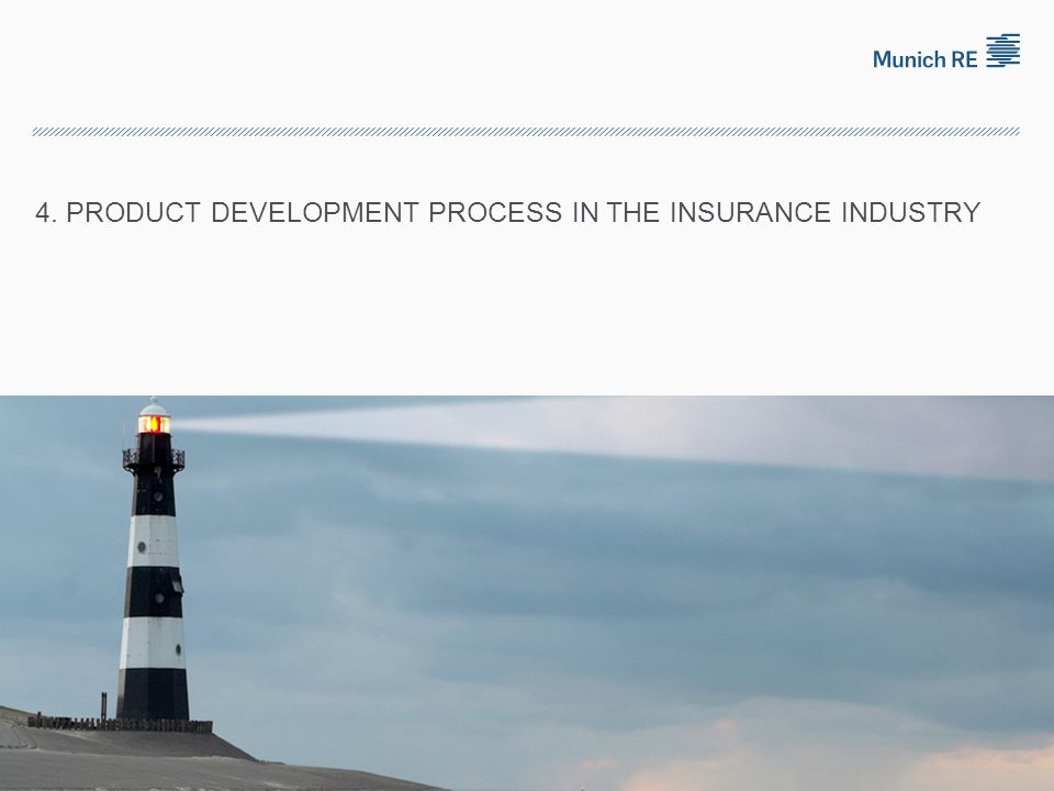 4. Product development process in the insurance industry