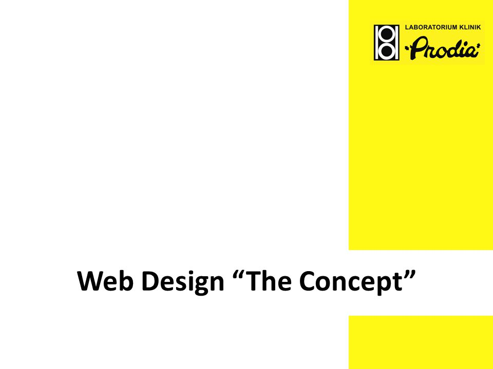Web Design The Concept