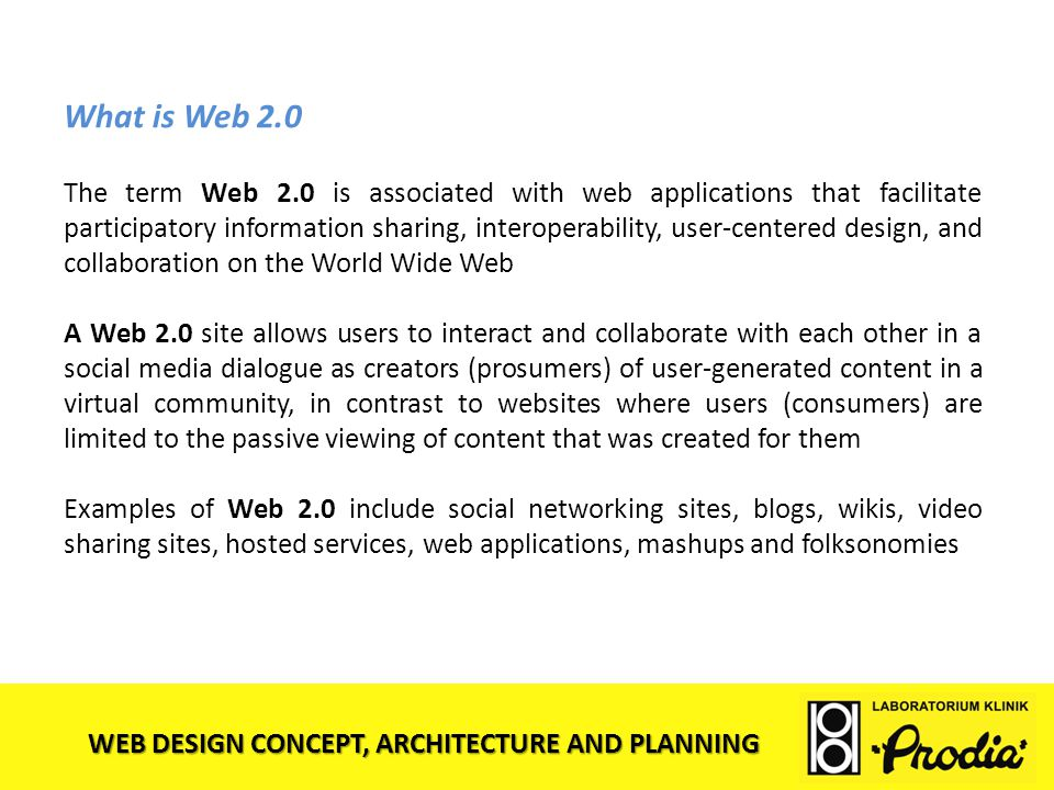 What is Web 2.0