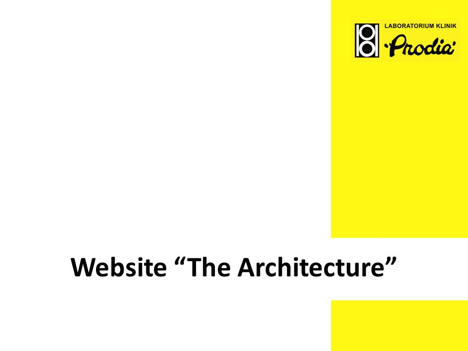 Website The Architecture