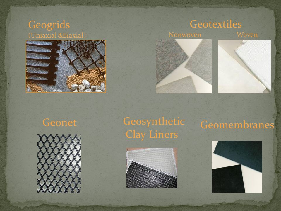 Geogrids (Uniaxial &Biaxial) Geotextiles