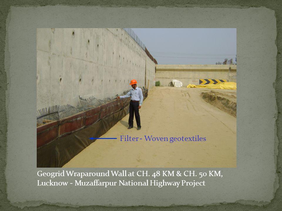 Geogrid Wraparound Wall at CH. 48 KM & CH. 50 KM,