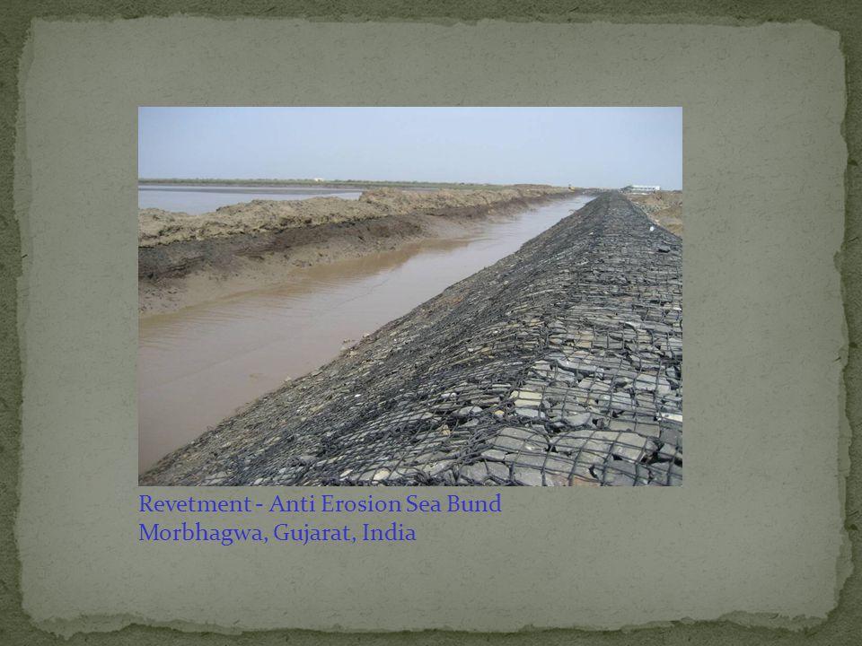 Revetment - Anti Erosion Sea Bund