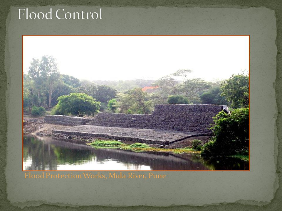 Flood Control Flood Protection Works, Mula River, Pune