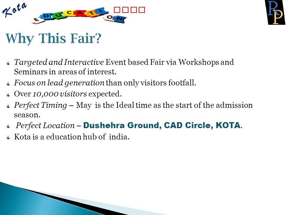 Kota Fair Why This Fair Fair