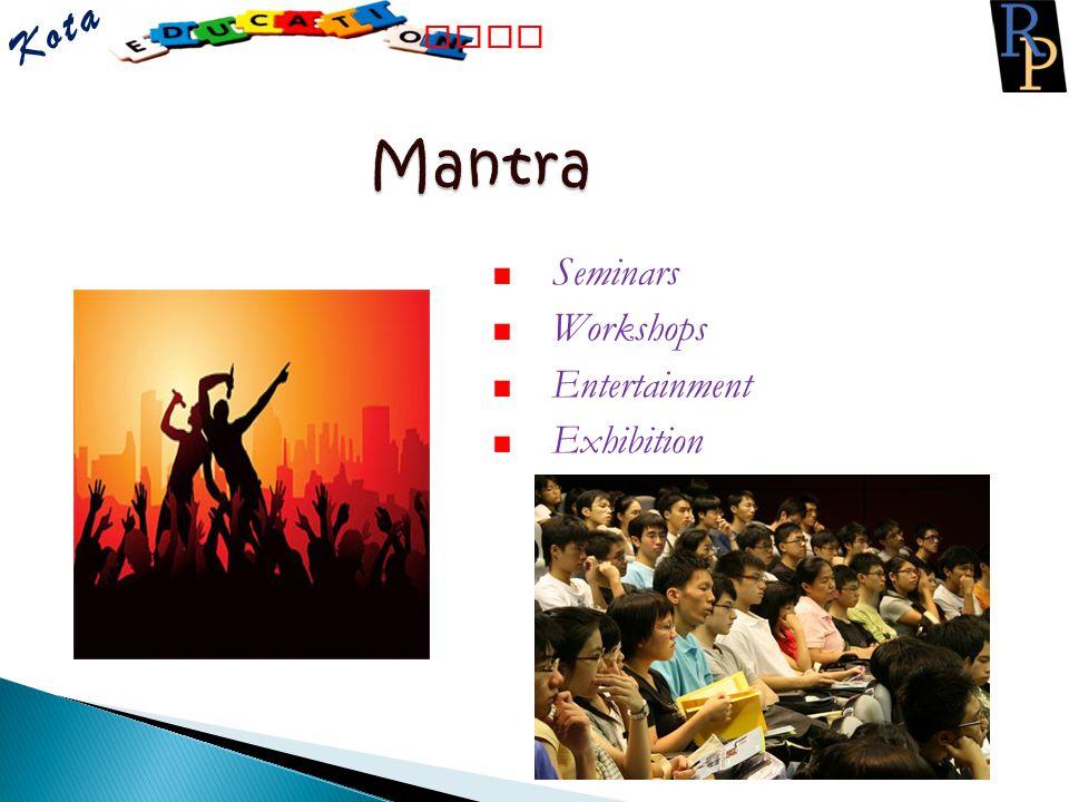 Kota Fair Mantra Fair Seminars Workshops Entertainment Exhibition