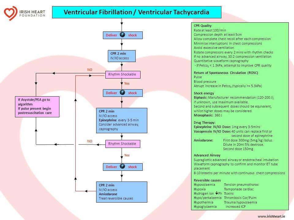 Ventricular Fibrillation / Ventricular Tachycardia