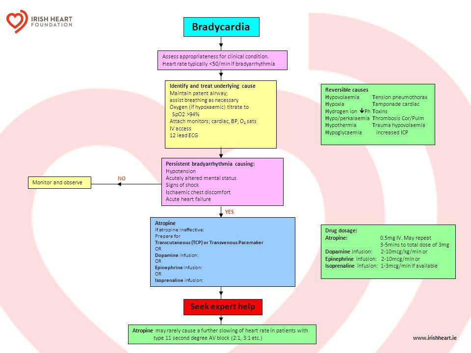 Bradycardia Seek expert help