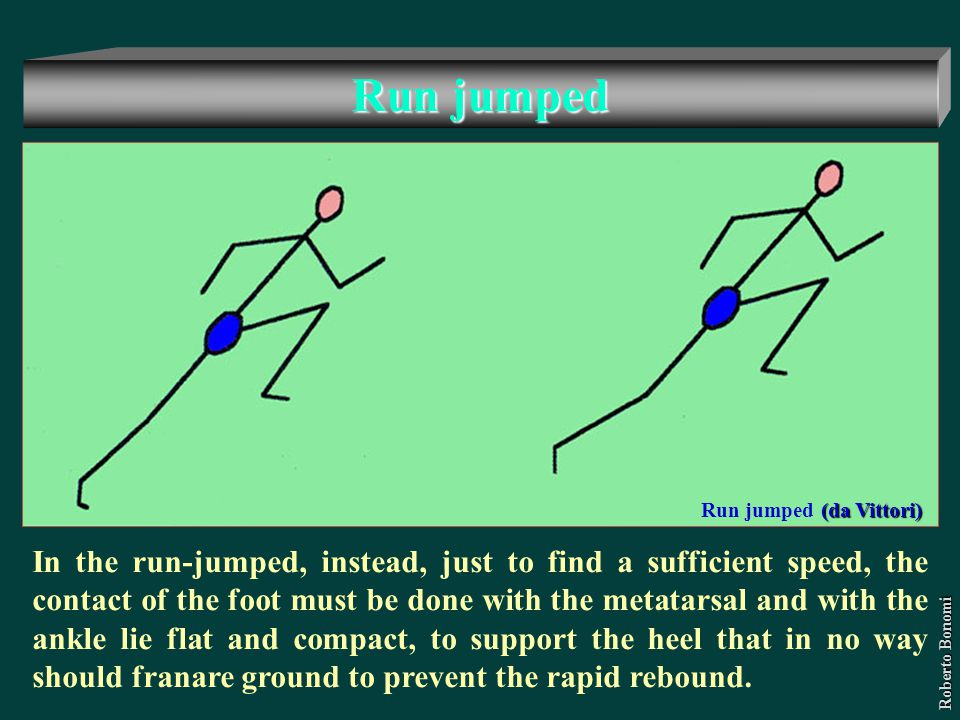 Run jumped Run jumped (da Vittori)