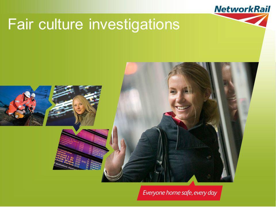 Fair culture investigations
