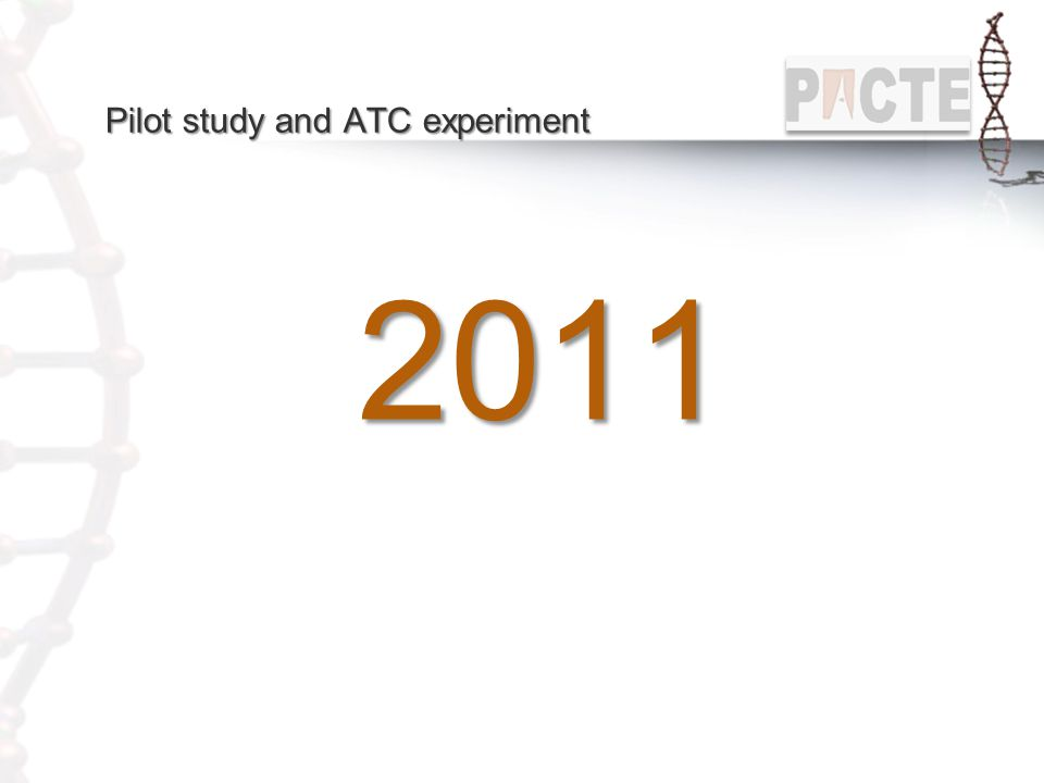 Pilot study and ATC experiment
