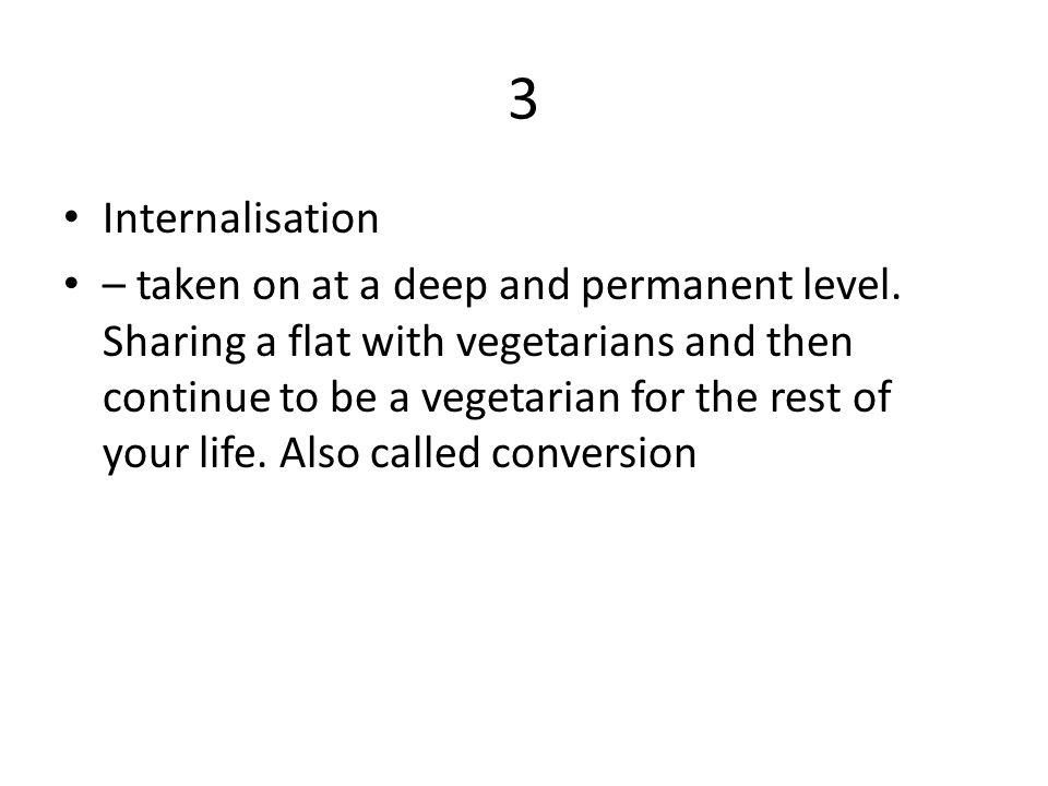 3 Internalisation.